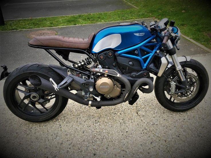 """Ducati Monster 1200 testastretta """"Café Racer"""""""