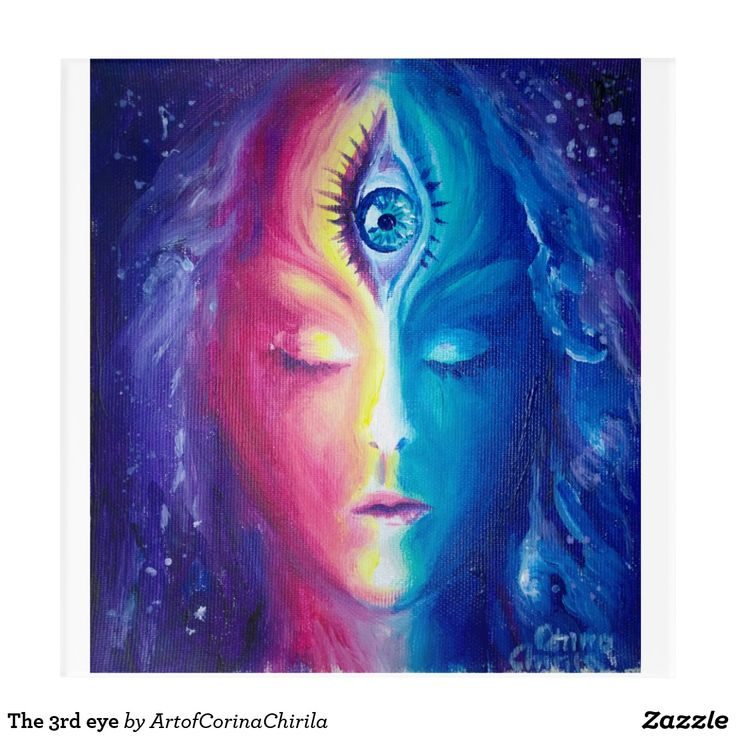The 3rd eye acrylic print