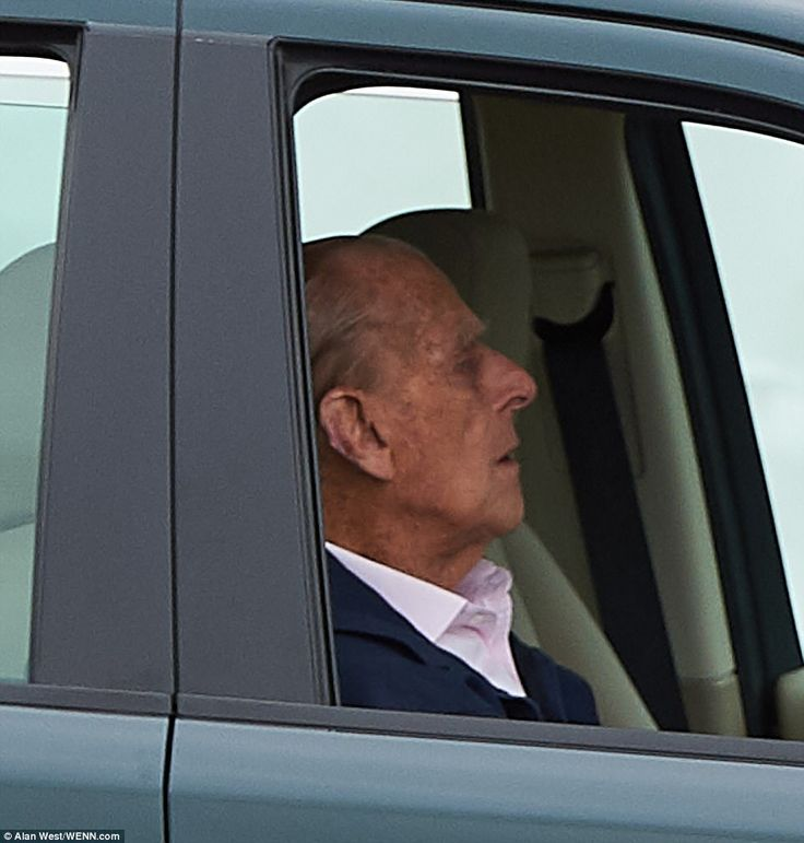 Prince Philip is seen for first time since hospital stay | Daily Mail Online
