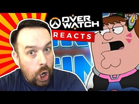 Reaction: Peter Griffin Soundboard in Overwatch Competitive! (Overwatch Trolling)