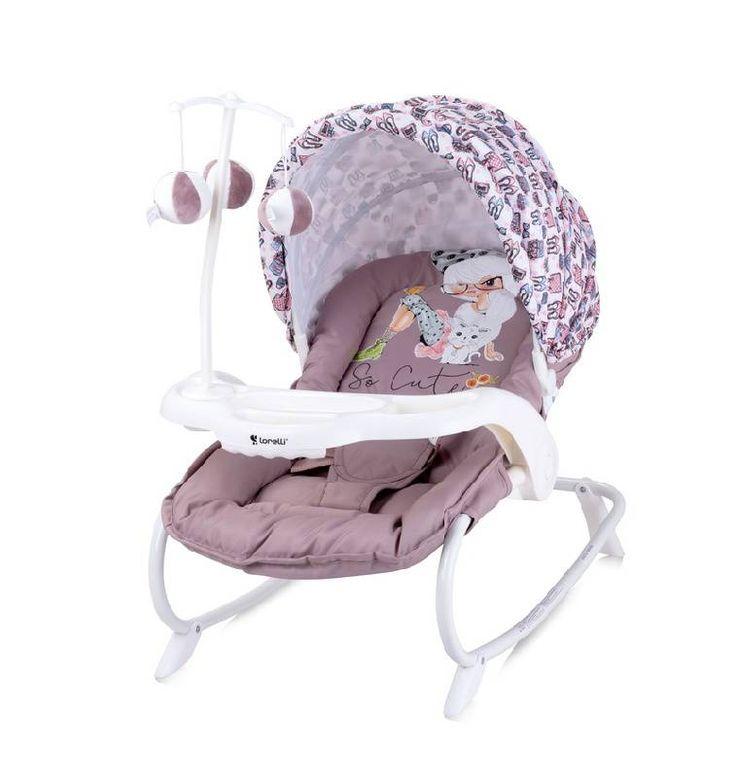 Кресло-качалка Lorelli dream time Beige Fashion Girl  Цена: 44 BTN  Артикул: 10110061713  Детский шезлонг с игрушками для малышей от рождения до 9 месяцев (или весом до 9 кг) идеально подходит для отдыха и игр Вашего крохи.  Подробнее о товаре на нашем сайте: https://prokids.pro/catalog/detskaya_mebel/kresla_kachalki_shezlongi/kreslo_kachalka_lorelli_dream_time_beige_fashion_girl/