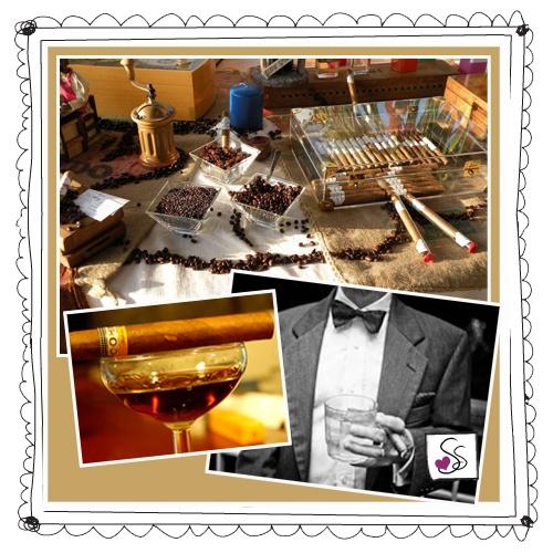 Gli amanti del fumo lento verranno allietati con le migliori selezioni di toscani e puros cubani rigorosamente fatti a mano. In un allestimento in tono con l'arredamento del luogo e lo stile della cerimonia, i sigari saranno posti in humidor o nelle scatole originali mentre su eleganti vassoi d'argento saranno a disposizione tagliasigari e fiammiferi per taglio e accensione.