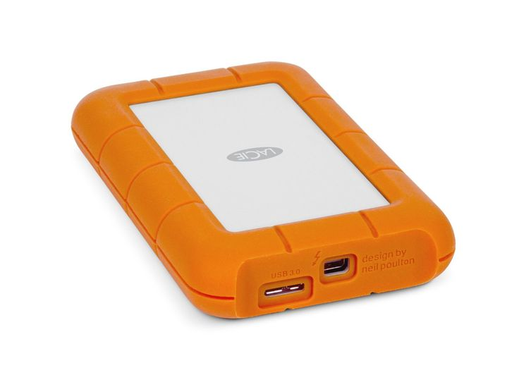 LaCie Rugged 1TB USB 3.0 Thunderbolt