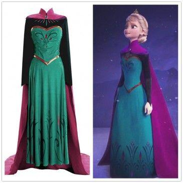 Disney Movie Frozen Elsa Dress Costume, the price is very cheap。 http://www.fanrek.com/disney-movie-frozen-elsa-coronation-dress-costumes.html