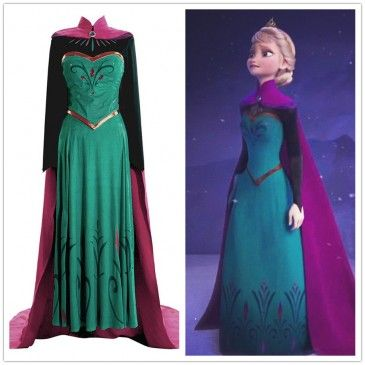 Disney Movie Frozen Elsa Dress Costume, the price is very cheap。  http://www.fanrek.com/disney-movie-frozen-elsa-coronation-dress-costumes.html