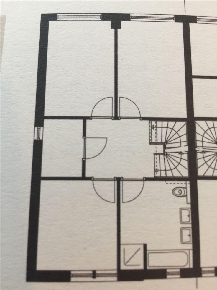 perfecte indeling 1e verdieping: 3 gelijke kinderkamers, berging en riante badkamer
