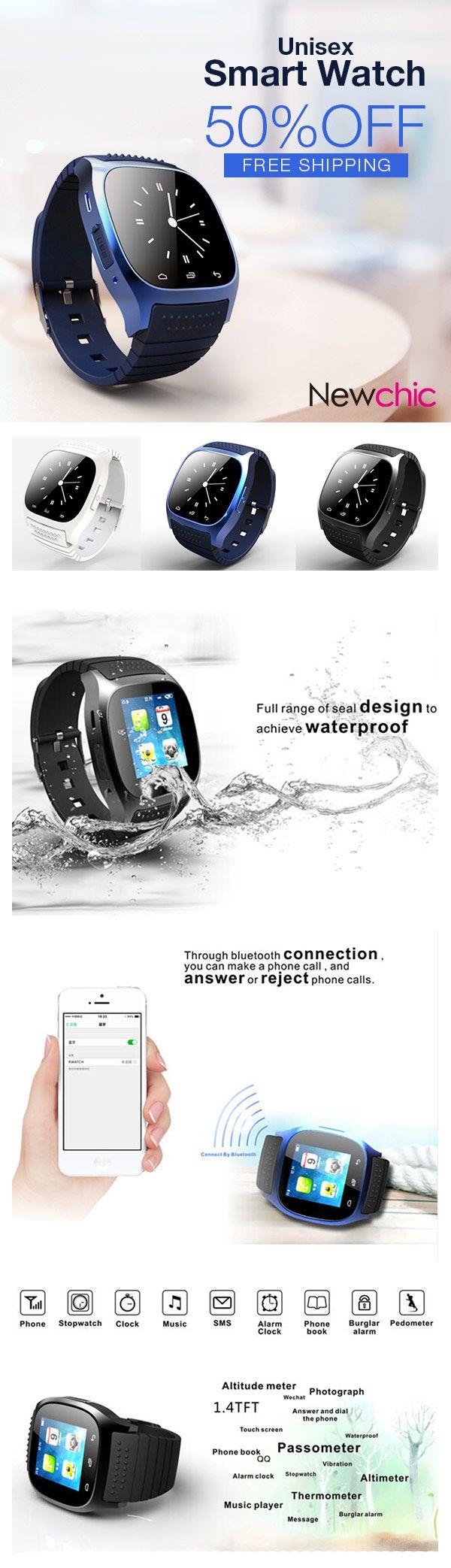 [Newchic Online Shopping] Unisex M26 Smart Watch