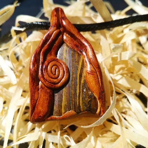 Arrowthings Jewellery. Boho. Tigers eye.
