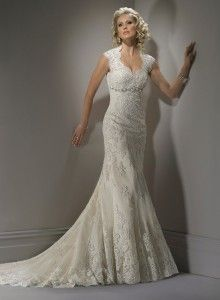 Sweetheart Vintage Lace Wedding Dresses - so pretty