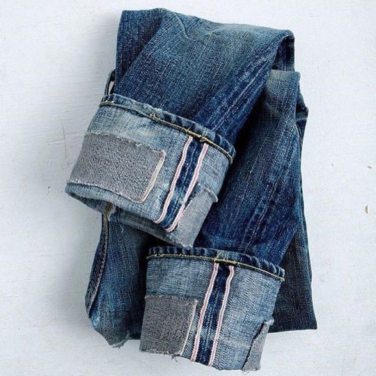 denim  jeans selvedge indigo