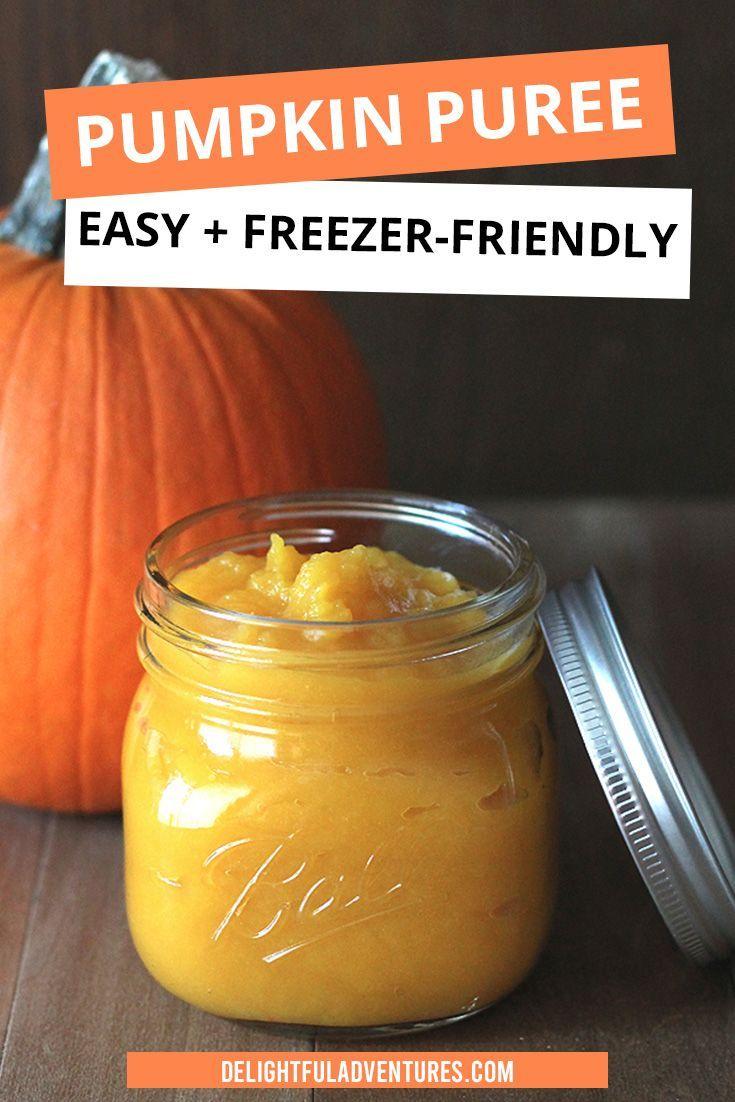 How To Make Homemade Pumpkin Puree It S Easy Recipe Homemade Pumpkin Puree Favorite Pumpkin Recipes Vegan Pumpkin Recipes