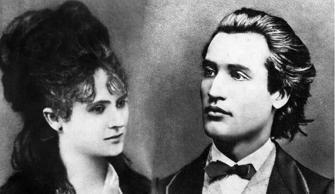 Veronica Micle and Mihai Eminescu