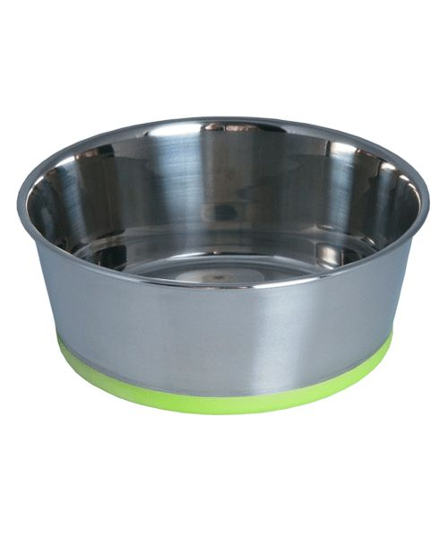 ROGZ SLURP BOWL - LIME. Available from www.nuzzle.co.za