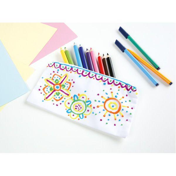Kolorowe piórniki DIY  #moje #bambino http://www.mojebambino.pl/akcesoria-do-tworzenia-strojow-upominkow-dekoracji-sal/593-piornki-do-ozdabiania-12-szt.html