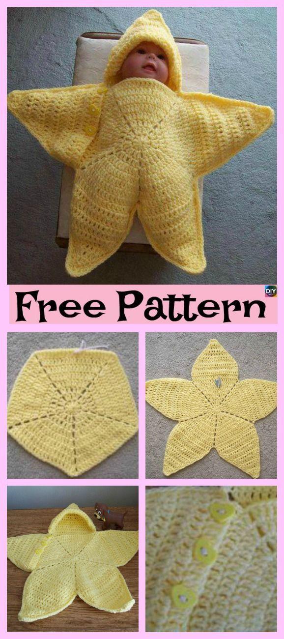 3c3625506 Cute Crochet Baby Star Bunting - Free Pattern