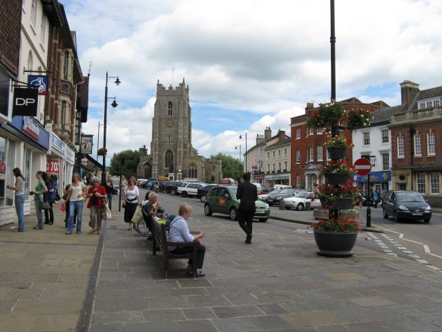 Sudbury Suffolk  Where I grew up!