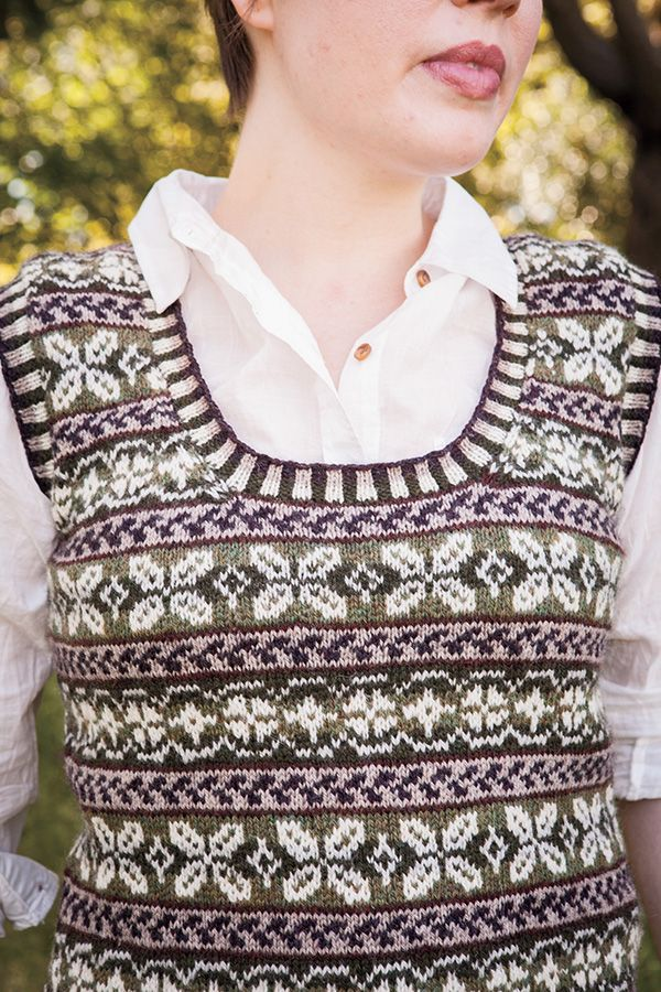Knitting Pattern Vest Top : 153 best images about Sleeveless tops and vests on Pinterest Vests, Free pa...