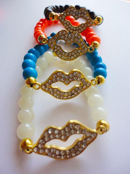 PULSERA CONECTOR BOCA #venta #joyeria #semanarios #collares #pulseras #moda #oro #compra #bisuteria #bracelet #fashion #accesories #USA