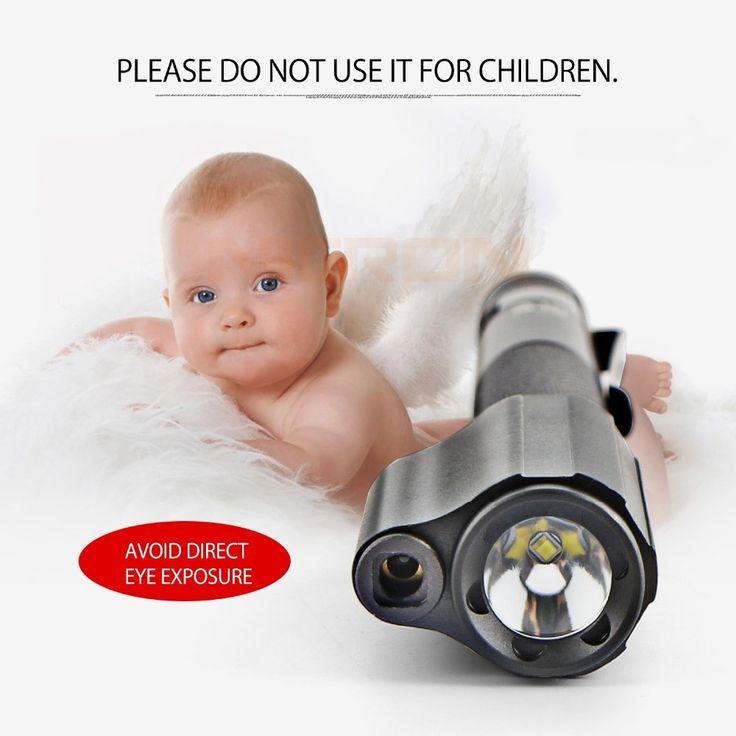 Nicron B24 120Lumens Portable Pen Shape Mini Red Laser Pointer with Work Light LED Flashlight