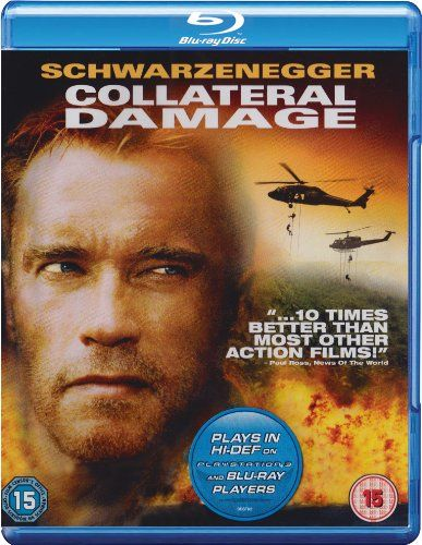 Collateral Damage [Blu-ray] [2002] [Region Free] A really good Arnie movie full of action and cheesiness 4****