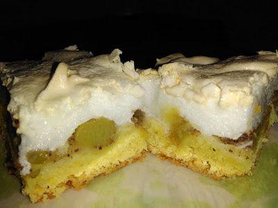 Fahéjas rebarbarás sütemény