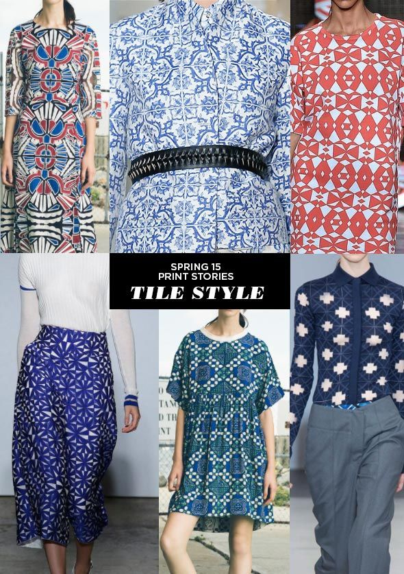 Spring 2015 Print Stories | Tile Style #RoadToMorocco