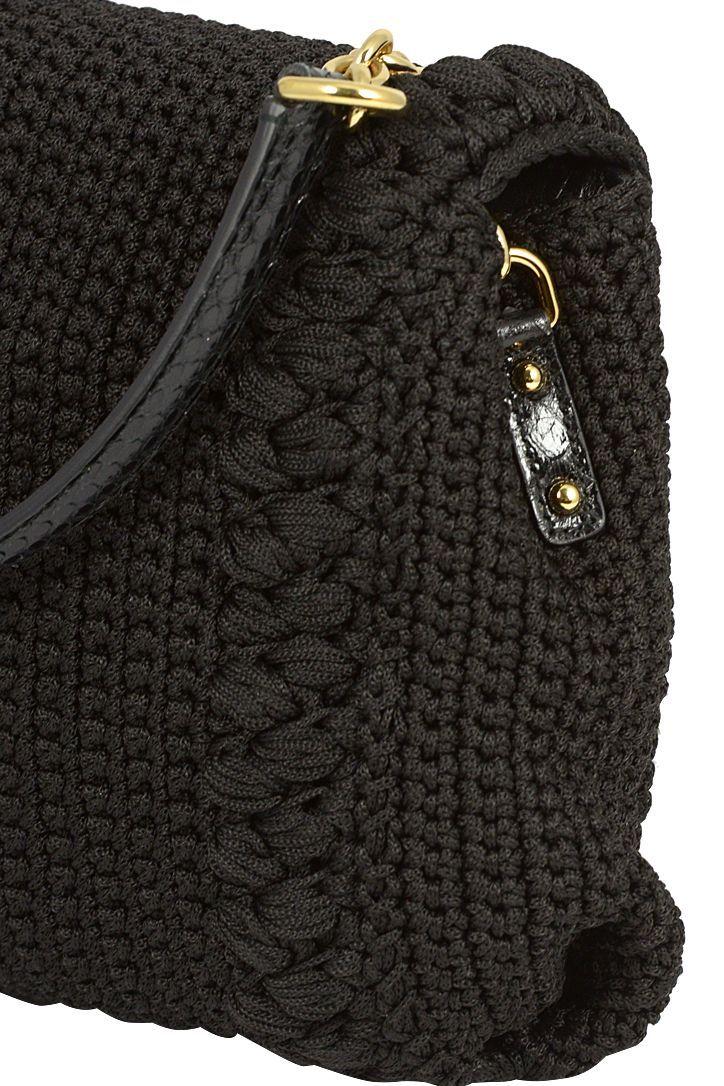 Borse medie in tessuto Dolce & Gabbana da Donna. Colore: nero, rosso