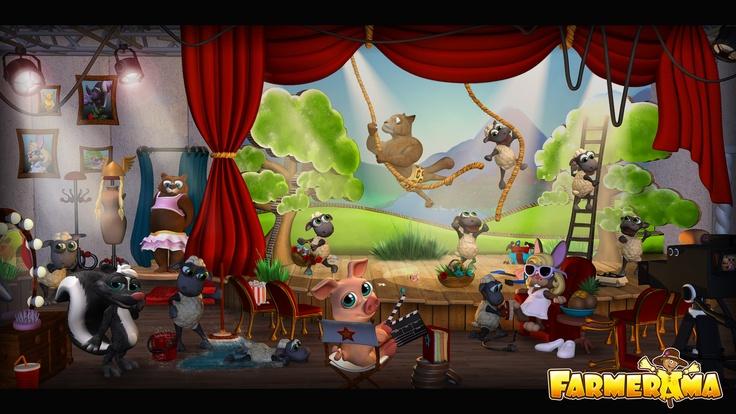 Farmerama Farm Game Wallpaper