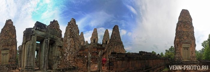 Камбоджа - день 22. Храмовый комплекс Ангкор Ват - средний круг
