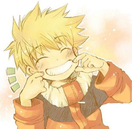Uzumaki Naruto ♥ Uchiha Sasuke #sasunaru so cute cute  |Laguh Naruto Uzumaki Cute