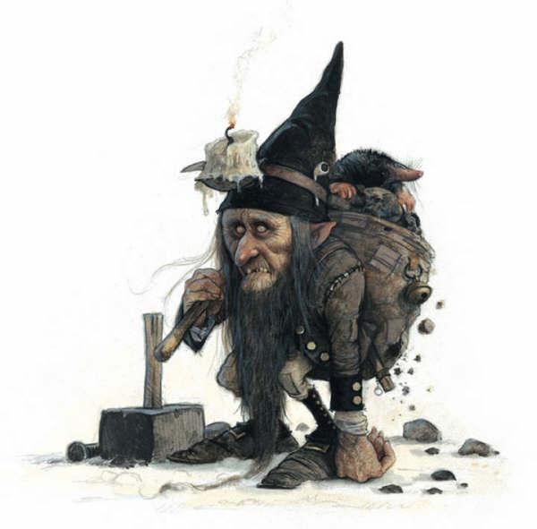 Сказочные персонажи Жана-Батиста Монжа - загадочные, зловещие, забавные - Ярмарка Мастеров - ручная работа, handmade
