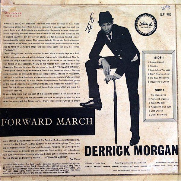 Derrick Morgan Derrick And Patsy Ameletia Dont You Worry