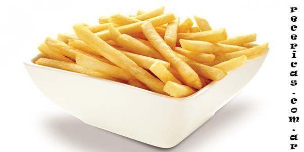 ¿Como hacer papas fritas perfectas?