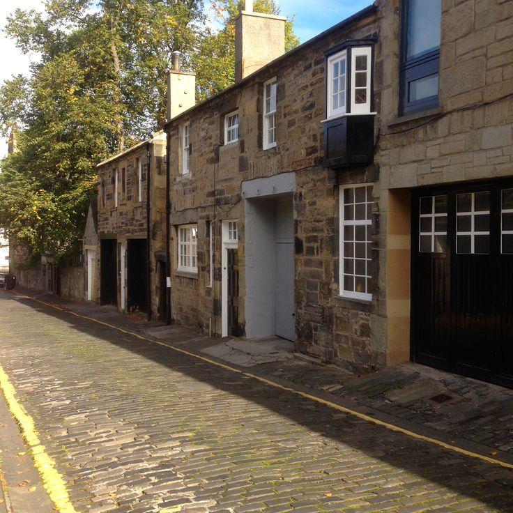 Gloucester Lane, Edinburgh; Formerly A Mews (or Meuse