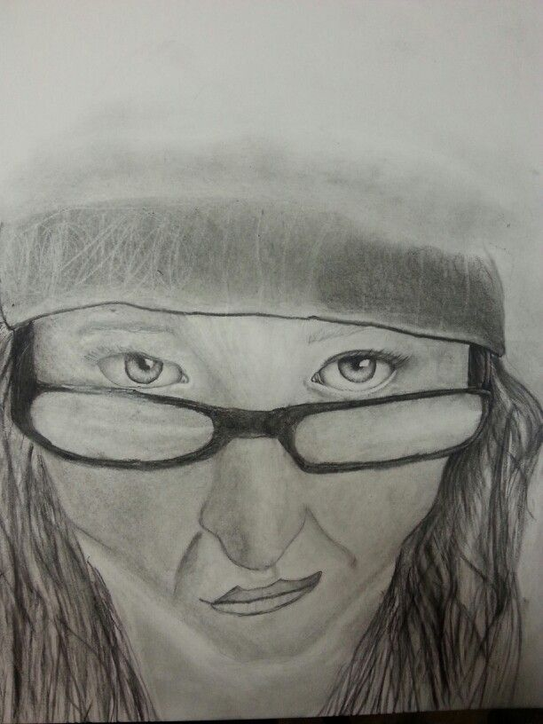 Very first pencil portrait :)