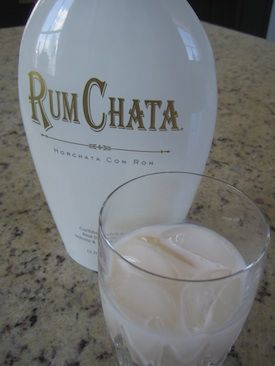 RumChata Mudslide- 1 part Kahlua, 1 part RumChata over ice. Seeing as how these are 2 of my fav drinks I don't think we can go wrong here...
