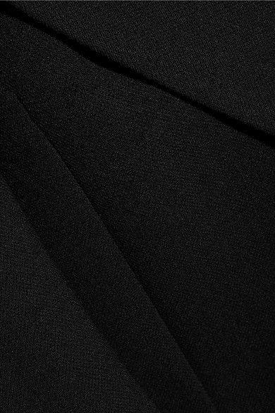 Victoria, Victoria Beckham - Wool Coat - Black - UK14