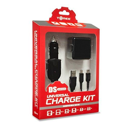 Universal Charge Kit For New 3Ds/ New 3Ds Xl/ 2Ds/ 3Ds Xl/ 3Ds/ Dsi Xl/ Dsi/ Ds Lite - Tomee, 2015 Amazon Top Rated Batteries & Chargers #VideoGames