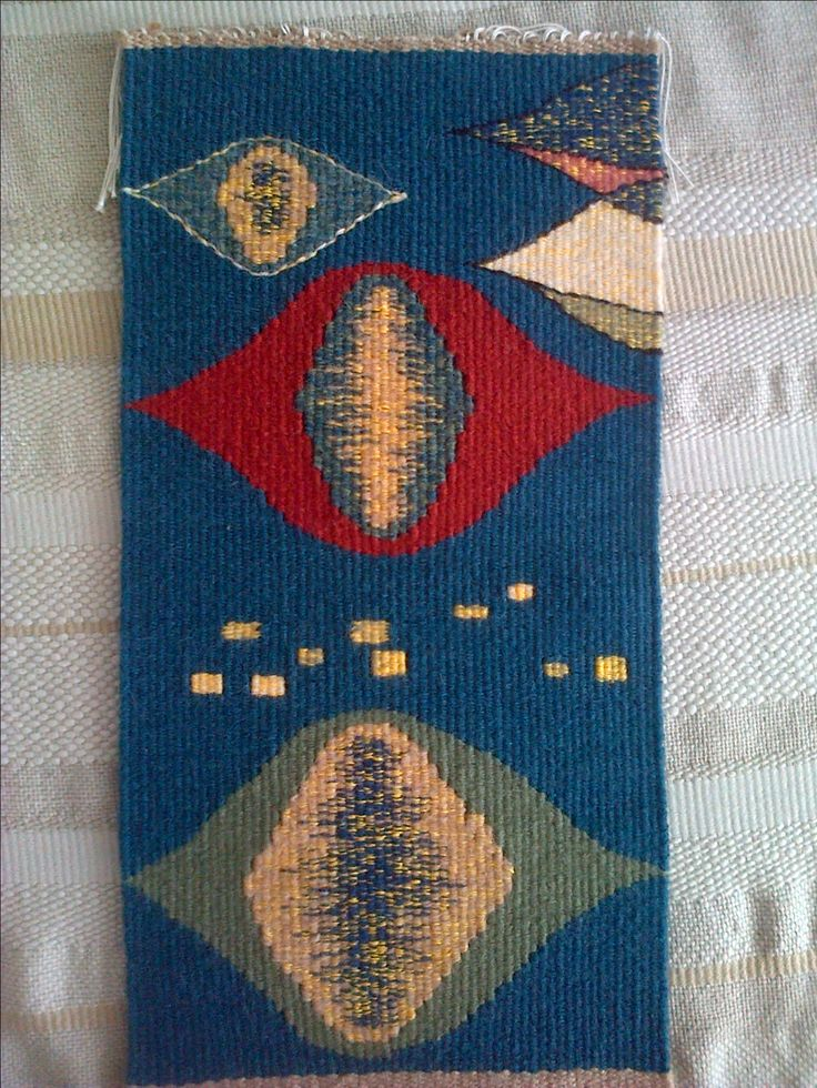 Tapestry swatch - study for Urban night