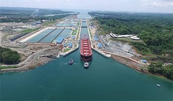 New Tonnage Record for Panama Canal