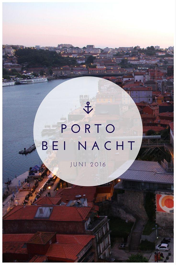 Porto bei Nacht - ein verzauberndes Städtchen im Norden Portugals - mehr Bilder auf meinem Blog: www.lichtbildreisen.de