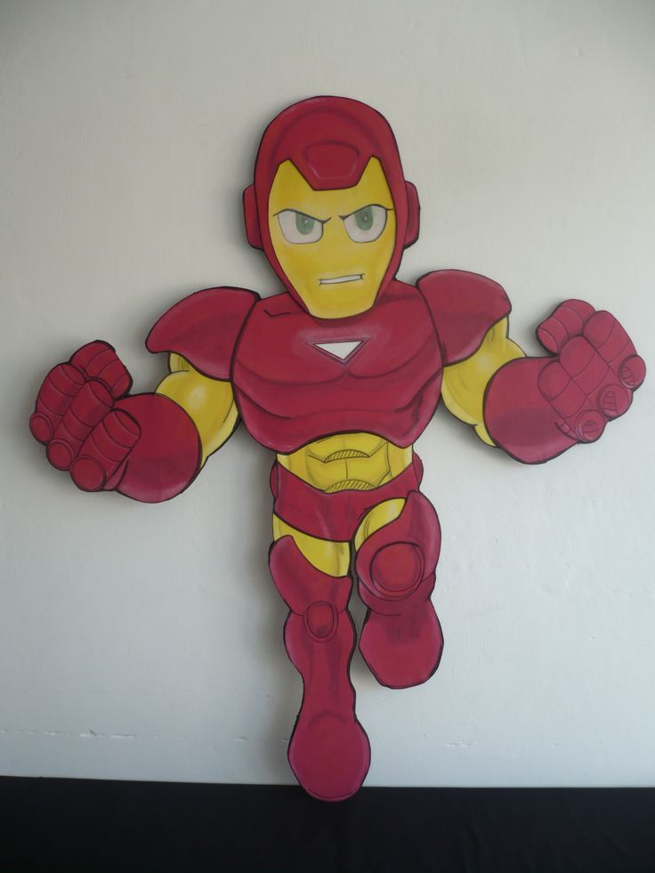 Iron Man Super Hero Squad Foami 120 Cm Party Ideas