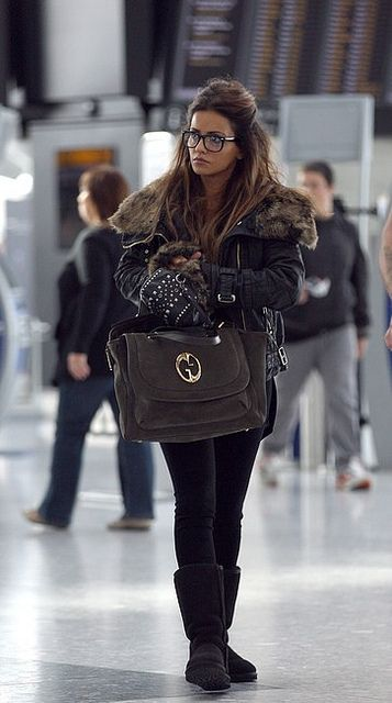 Monica Cruz wearing Uggs. #shoedipity #UGGs #fashion Celebrity Style Women's Fashion by How Celebs Wear It, via Flickr http://pinterest.com/treypeezy http://OceanviewBLVD.com