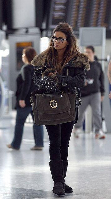 Monica Cruz Uggs Celebrity Style Women's Fashion by How Celebs Wear It, via Flickr