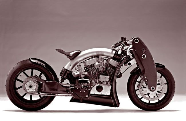 Confederate Motorcycle - cool is an understatement!