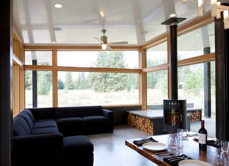 Plus de 100 id es tester sur wohnideen wohnzimmer garten fourrure et interieur - Brennholz lagern ideen wohnzimmer garten ...