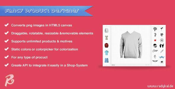 Fancy Product Designer - jQuery plugin