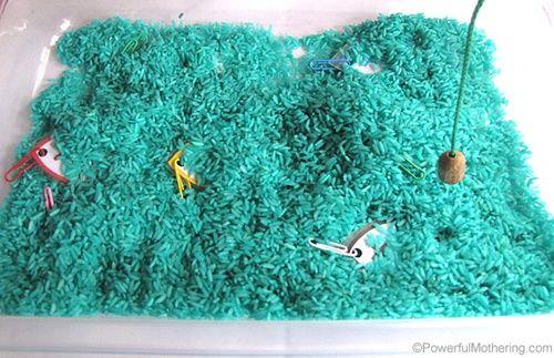 peche riz colore