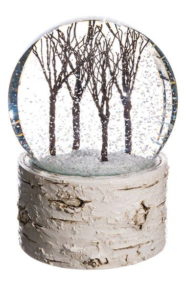 Free shipping and returns on ALLSTATE Musical Snow Globe at Nordstrom.com. A miniature winter wonderland is encapsulated in a classic snow globe set on a rustic, birch bark-textured base.