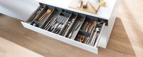 ORGA-LINE for metal drawers utensil and flatware drawer organizer